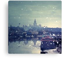 Happy winter to you! Canvas Print