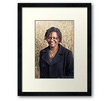 location portraits Framed Print