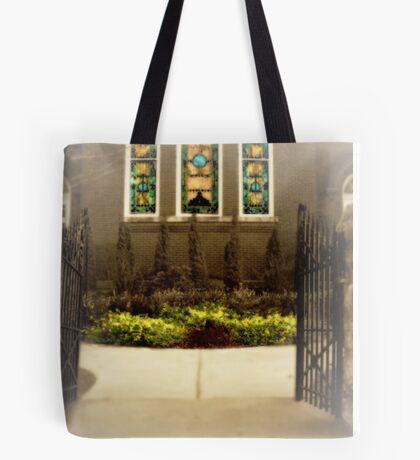 Historic Church Tote Bag