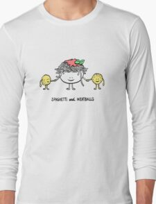 Spaghetti and Meatballs Long Sleeve T-Shirt