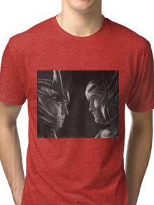 Jotunheim and Asgard Tri-blend T-Shirt