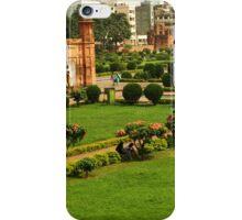 a sprawling Bangladesh landscape iPhone Case/Skin