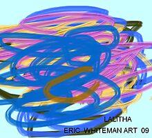 ( LALITHA ) ERIC WHITEMAN ART  by eric  whiteman