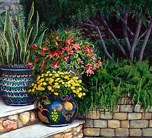 Painted Pots by Mary Palmer