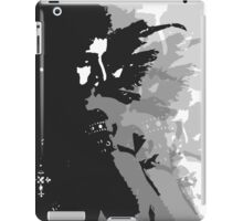 Guardian Black winged Angel print photography exclusive by David Berbia iPad Case/Skin
