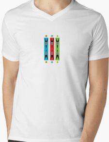 pointy retro  Mens V-Neck T-Shirt
