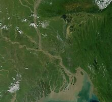 a sprawling Bangladesh landscape by beautifulscenes