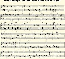 Kandinsky - Yellow Red Blue - in G major - Score by Mufa ...