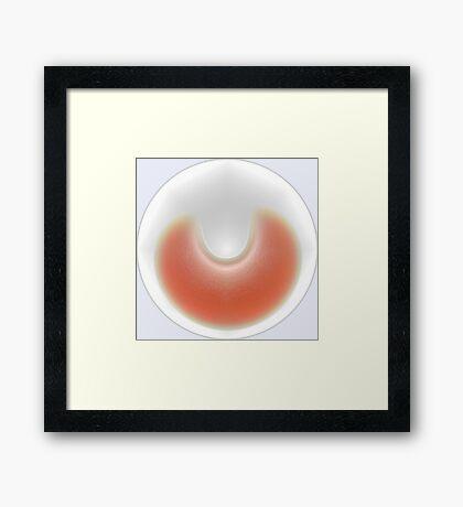 Slice of Orange Framed Print