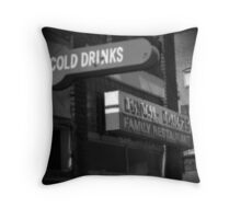 Cold Drinks Throw Pillow