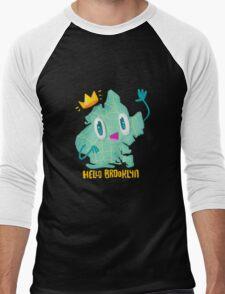 Hello Brooklyn Men's Baseball ¾ T-Shirt