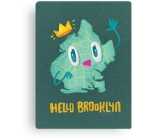 Hello Brooklyn Canvas Print