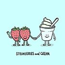 Strawberries and Cream by ManlyDesign