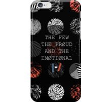 The Few, the Proud, and the Emotional iPhone Case/Skin