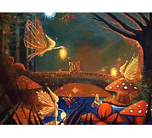 Fairy Gathering  Photographic Print