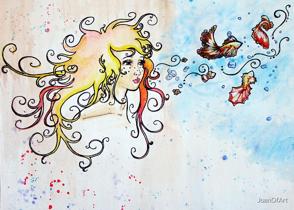 BlowFish by JoanOfArt