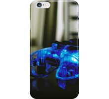 Blue Neon Controller  iPhone Case/Skin