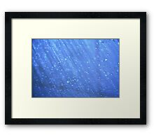 Precious water Framed Print