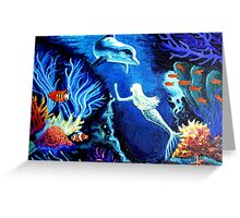Secrets Of The Coral Reef Greeting Card