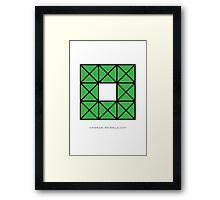 Design 56 Framed Print