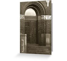 Heavens Door Greeting Card