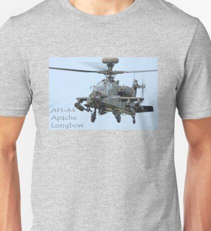 AH-64 Apache Longbow  Unisex T-Shirt
