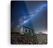 Burra North Ruin and Galaxy Impression métallique