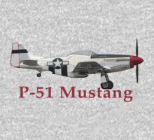 P-51 Mustang by Karl R. Martin