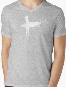 Surfer Girl Mens V-Neck T-Shirt
