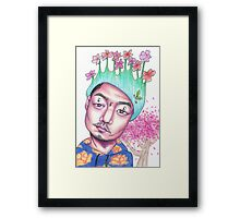 DUMFOUNDEAD Spring And Glitter Framed Print