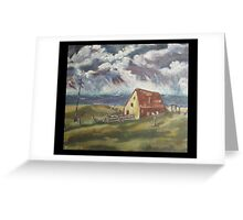 Fisherman's Cottage by Peter the Red Greeting Card