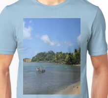 a vast Dominica landscape Unisex T-Shirt