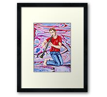 Clarinet cool Framed Print