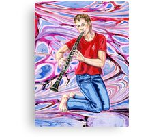 time for some Clarinet cool... Canvas Print