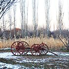 Old Wagon Wheels by indeannajones