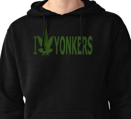 I Love Yonkers Pullover Hoodie