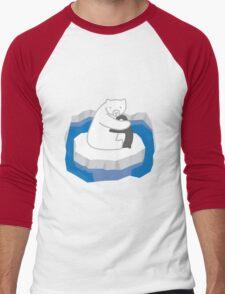 Polar Bear Hug Men's Baseball ¾ T-Shirt
