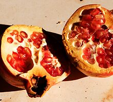 Pomegranate, Samos, Greece by Mary Canning