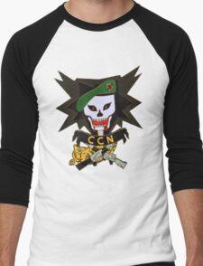 Macv sog comand control north patch (ccn) Men's Baseball ¾ T-Shirt