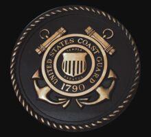 US Coast Guard Emblem T-Shirt Kids Clothes