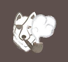 Smoking Wolf Long Sleeve T-Shirt