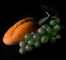Bread and Grapes by Jeffrey  Sinnock