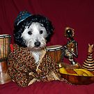 Bella at the African Market by Pascal and Isabella Inard