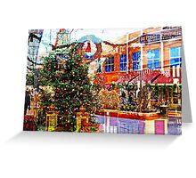 Christmas Inside outside  Greeting Card