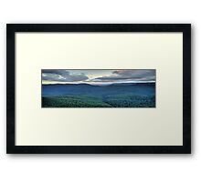 Blue Mountains Odyssey - Blue Mountains World Heritage Area - The HDR Experience Framed Print
