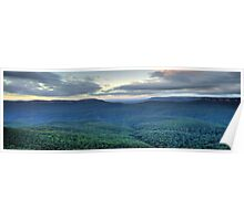 Blue Mountains Odyssey - Blue Mountains World Heritage Area - The HDR Experience Poster