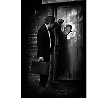 When A Stranger Calls  (Have you checked the children?) Photographic Print