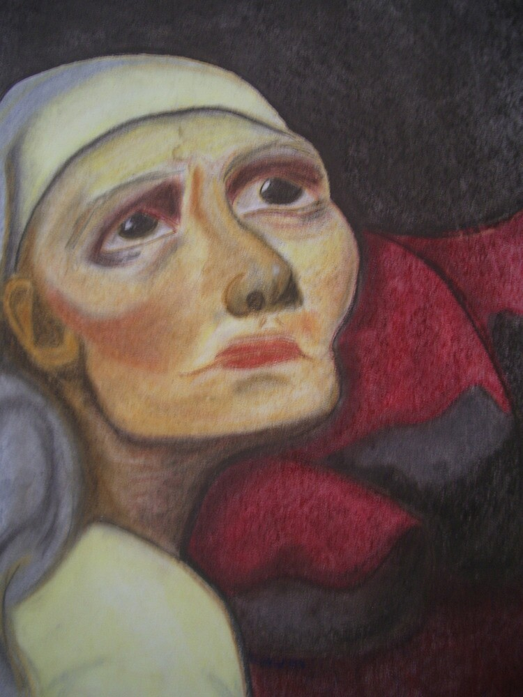 old woman by Lael Woodham