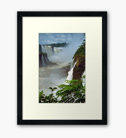 Iguazu Falls, Argentina Framed Print