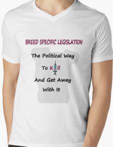 Breed Specific Legislation Mens V-Neck T-Shirt